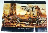 Hasbro Star Wars Clone Wars Figures Promo Poster Durge Anakin Clonetrooper 2003