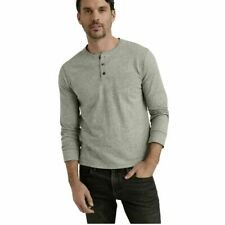 Lucky BRAND Men's Long Sleeve T-shirt Size Large Color Grey S24
