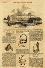 Ft. Malby - Toom's Station, Tenn.- Miss. Central RR - Civil War - Leslie's -1862