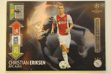 Christian Eriksen Limited Edition - Panini Adrenalyn XL Champions League 2012/13