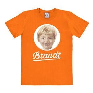 LOGOSHIRT - Marke - Deutschland - Brandt Zwieback Logo - T-Shirt Print, orange