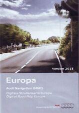 AUDI DVD Navigation EUROPA Europe WEST  MMI 2G High  A4  A6  A5  A8 S5 Q7   2015
