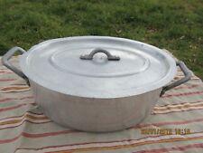 Ancienne Cocotte en Fonte d'aluminium avec son égouttoir - Vintage Années 50/60