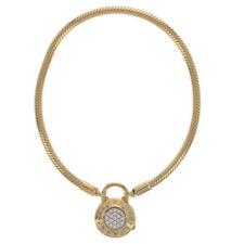 "Pandora Shine Moments Signature Padlock Bracelet 7.5"" NEW Authentic 567757CZ-19"
