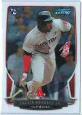 2013 Bowman Chrome Baseball Jackie Bradley Jr. Rookie RC #43 Red Sox
