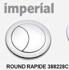1 x IMPERIAL WARE EVO TOILET FLUSH DUAL BUTTON  60mm. GENUINE CISTERN BUTTON