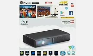 DLP Projector HD - (M16 Model) Android, Electronic Focus - NEW