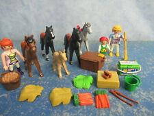 Viele Pferde Figuren Zubehör zu 4190 5222 6926 Reiterhof Country Playmobil 9433