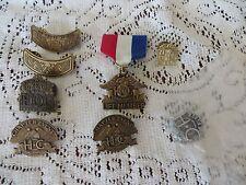 HOG HARLEY DAVIDSON PINS  VINTAGE  8 Chapter Event 30 year Life 1987 2012 1991