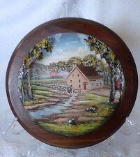 Aaron Zook Carved Artwork Pennsylvania Dutch Amish Diorama