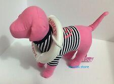 NWT Victoria's Secret MINI LIFE STRIPE SAILOR PINK Dog RARE Collector Item SS