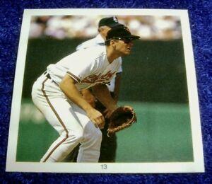 """Cal Ripken #13 Sticker 1991 Record Breakers 2.5X2.5"""" Cut Photo Mint Oddball"""