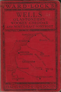 WARD LOCK RED GUIDE - WELLS & NORTH EAST SOMERSET - c.1950 - 9th edition