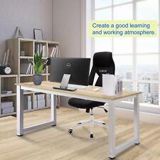 140cm PC Computer Schreibtisch Arbeitstisch Büro Heimarbeitsplatz Holz & Metall
