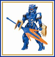 Power Rangers Jungle Fury _ Blue Armored Jaguar Ranger
