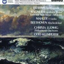 Christa Ludwig - Brahms, Wagner, Beethoven, mAh NUEVO CD