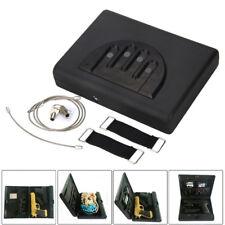 2&1Gun Safe Nightstand Drawer Box Combo Combination Microvault Pistol Lock Vault