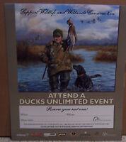 Ducks Unlimited Event Poster Print Labs Mallard Ralph McDonald