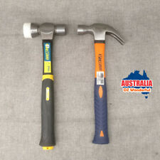 2pcs Hammers Two-Way Malle Double Head Coating & American Type Claw TPR Handle