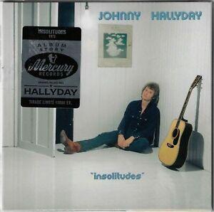 JOHNNY HALLYDAY insolitudes - cd album story Mercury tirage limité
