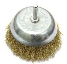 Brosse métallique pour poncer ponçage métal metaux pour visseuse perceuse 9 cm