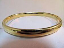 18K Pure Gold Open Bangle Bracelet.   Heavy.  SALE-SAVE $2,400.  #677