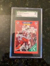1989 PRO SET #494 BARRY SANDERS ROOKIE...............SGC 96