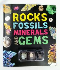Rocks,Fossils, Minerals & Gems by Claudia Martin (2017, Paperback)