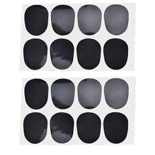 16pcs Alto/tenor Sax Clarinet Mouthpiece Patches Pads Cushions, 0.8mm Black Gut