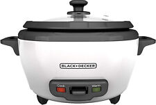Rice Cooker and Food Steamer 6-Cup Cooked 300W Warm Kitchen Food Appliances Chef