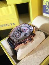 Invicta Men's 14331 Specialty Tonneau Leather Watch   Dressy Classy Piece
