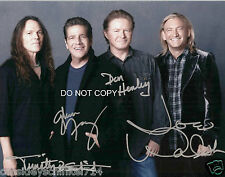 The Eagles band reprint signed autographed photo by all 4 Glenn Frey Don Henley