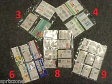 25) EXTREME COUPON STORAGE SLEEVES - STARTER KIT!!