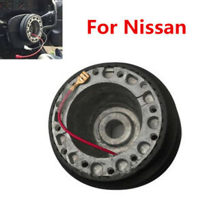Car Modified Steering Wheel Base Hub Adapter+Hex Wrench+Screws Kit For Nissan