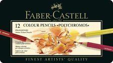Faber - Castell 12 Polychromos Artists' Color Pencils