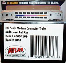 NJ Transit 7001 Multi-Level Cab Car Atlas 20004109 HO O16.29