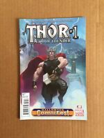 THOR God of Thunder #1 Marvel, 2013 Halloween Comicfest Variant