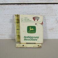 Vintage John Deere Rain Gauge Recorder -