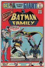 Batman Family #1 VF/NM 9.0 1st appearance Man-Bat rpt, origin/2nd Batgirl/Robin