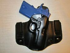 kimber ultra carry ll & colt defender, IWB OR OWB, R H,pancake belt holster