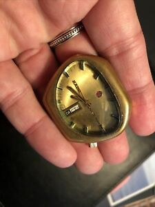 Vintage rare Rado NCC 404 day date Automatic - Works, but in rough shape
