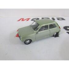 voiture 1/43 - renault 5 verte - solido