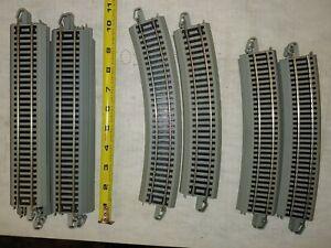 1pc HO Scale Model Railway Track Metal Cement-sleeper Streamline Railtrack 35cm
