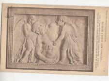 P57.Vintage Postcard.Christ in the Sepulchre. By Donatello. Sculpture.