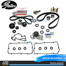 Gates HTD Complete Timing Belt Kit Water Pump A/C Tensioner for Hyundai Kia 2.7L