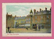 Unposted vintage card. Pre 1918. Five Ways , Birminghem ,  Warwickshire.