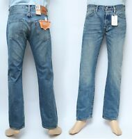 9b8ccedfc3a8f Jeans Levis 501-2279 Men s Fashion Original Brand Fit Button Fly Regular  Fit NWT