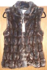 Ladies BNWT Faux fur Gilet by True Grit Dylan . Size small