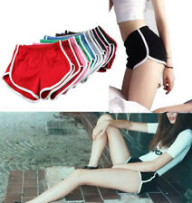 Women Sports Yoga Shorts Casual Beach Gym Running Workout Fitness Hot Pants US