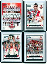 2010 / 2011 NRL SELECT STRIKE ST GEORGE REDEMTION PREMIERSHIP CARD SET NO.3/400